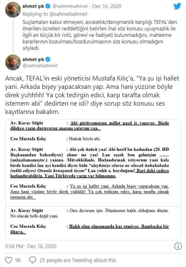 Ahmet Şık, Erdoğan'ın eski avukatı ve iki hâkimin ses kayıtlarını paylaştı 2 - Ahmet Sik Erdoganin eski avukati ve iki hakimin ses kayitlarini paylasti 2