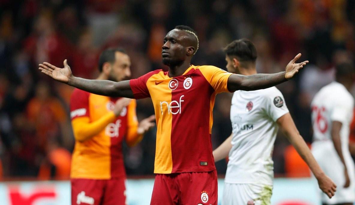 Galatasaray Mbaye Diagne'nın Ayrıldığı Duyurdu