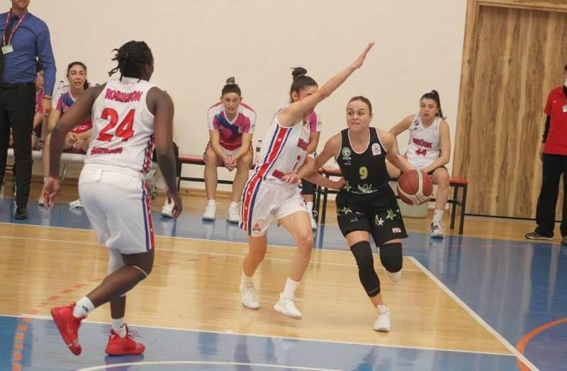 Mersin Büyükşehir Kadın Basketbol Takımı 5. Galibiyetini Aldı