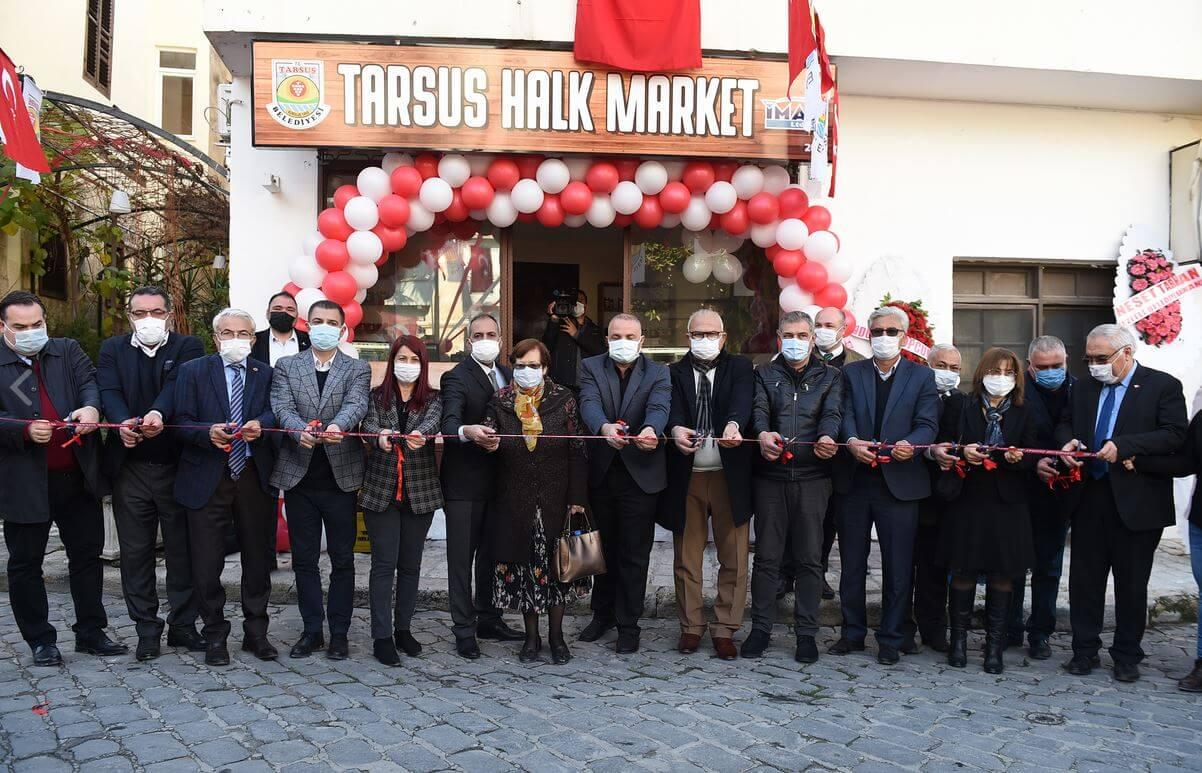 Tarsus Belediyesi Bir İlke İmza Attı: Halk Marketi Açtı