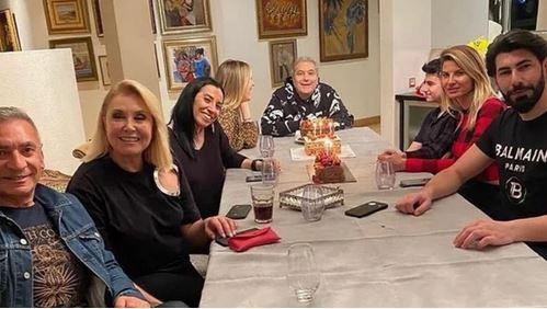 Mehmet Ali Erbil Doğum Gününü Eski Eşleriyle Birlikte Kutladı