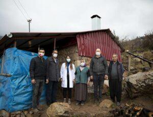Mersin Büyükşehir'den 81 Yaşındaki Kadına Yardım Eli