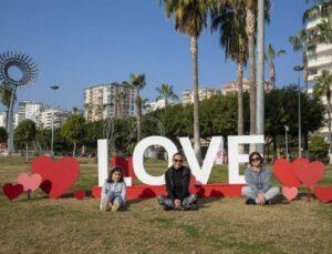 Mersin'de 14 Şubat Sevgililer Günü Hazırlıkları