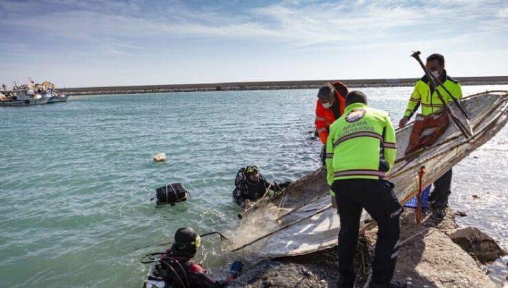 Mersin'de Deniz Dibi Temizlik Çalışmaları