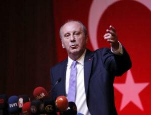 Muharrem İnce CHP'den İstifa Etti: Muhalefeti Bölmek Yok!