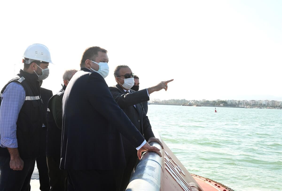 Vali Ali İhsan Su, Mersin Limanı'nda İncelemeler Yaptı