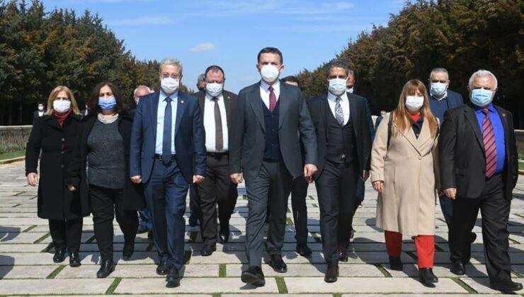 Başkan Abdullah Özyiğit, Anıtkabir'i Ziyaret Etti