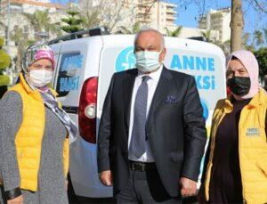 """Erdemli Belediyesinden """"Anne Taksi"""" Projesi"""