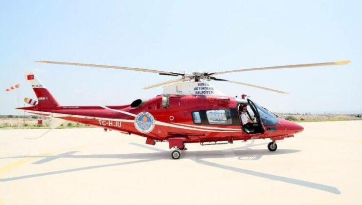 Mersin Büyükşehir'e Helikopter 50 Milyon'a Mal Oldu