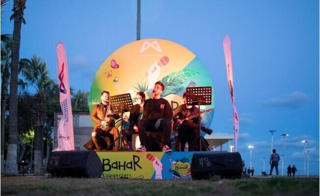 Mersin'de Hoş Geldin Bahar Konserleri Başladı
