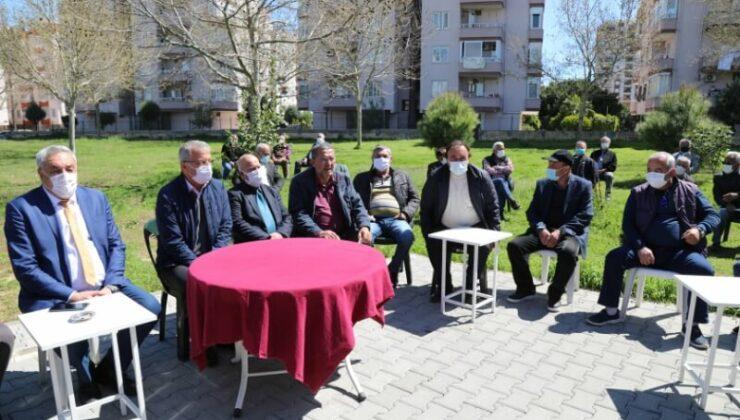 Mezitli Belediye Başkanı Neşet Tarhan Emeklilerle Buluştu