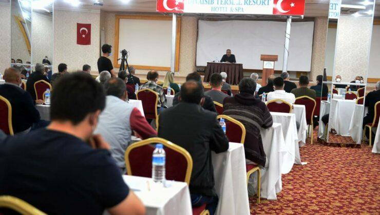 Tarsus Belediyesi Çalışanları Kapadokya'da Kampa Girdi