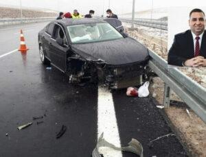 Tarsus Eski Belediye Başkanı Şevket Trafik Kazası Geçirdi!