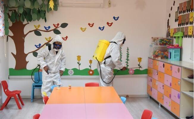 Toroslar'da Dezenfeksiyon Çalışmaları En Üst Noktada