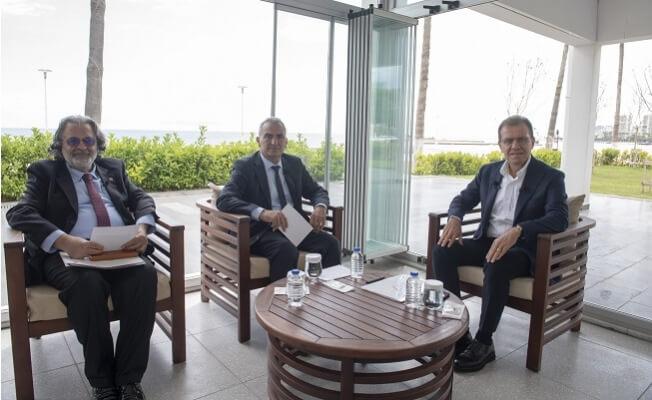 Başkan Vahap Seçer, 2.Yılını Ortak Yayında Değerlendirdi