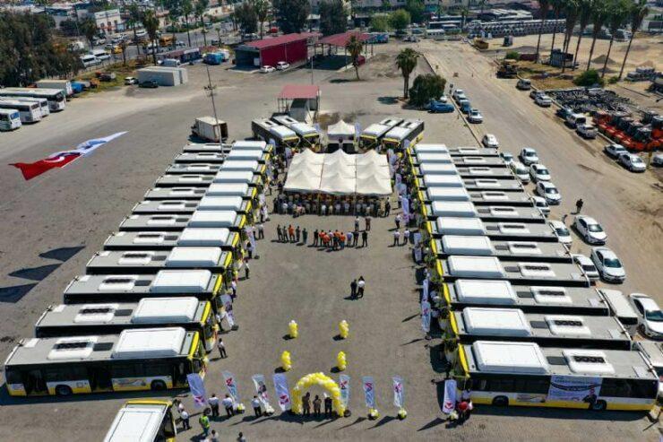 Cng'li 'Sarı Limonlar'ın 30 Araçlık İlk Partisi Mersin'de 3 - cevre dostu cngli sari limonlarin 30 araclik ilk partisi mersinde 3