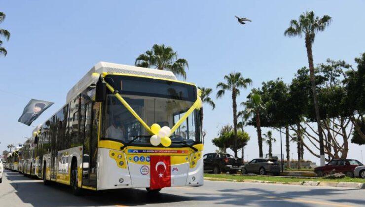 Cng'li 'Sarı Limonlar'ın 30 Araçlık İlk Partisi Mersin'de