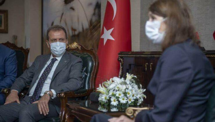Hollanda'nın Türkiye Büyükelçisi'nden Başkan Vahap Seçer'e Ziyaret