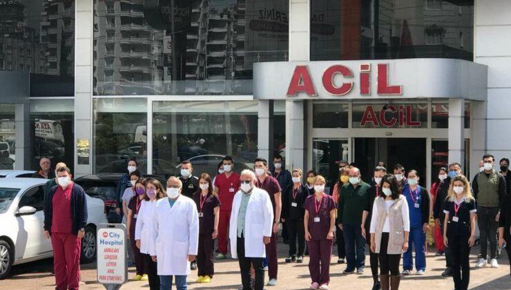 Koronavirüsten Hayatını Kaybeden Sağlık Çalışanları Mersin'de Anıldı 3 - koronavirusten hayatini kaybeden saglik calisanlari mersinde anildi 4