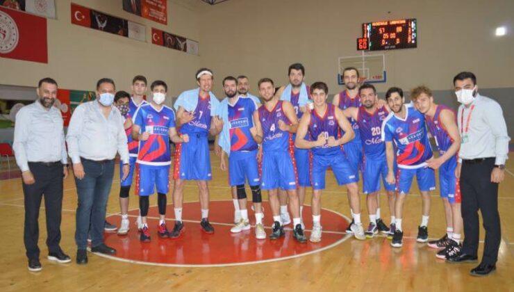 Mersin Büyükşehir Erkek Basketbol Takımı Final Grubuna Kaldı
