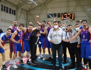 Mersin Büyükşehir GSK Erkek Basket Takımı, Etimesgut'u 60-72 Yendi