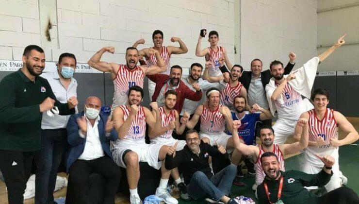Mersin Büyükşehir GSK Erkek Basket Takımı, Türkiye Basketbol 1. Ligi'ne Yükseldi