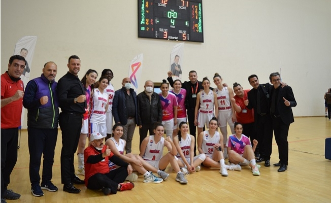 Mersin Büyükşehir GSK Kadın Basket Takımı, Botaş Gelişim'i 72-71 Mağlup Etti