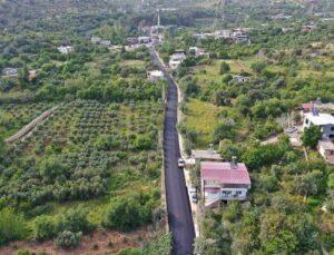 Mersin Büyükşehir, Gülnar'da Asfaltlama Çalışma Yaptı