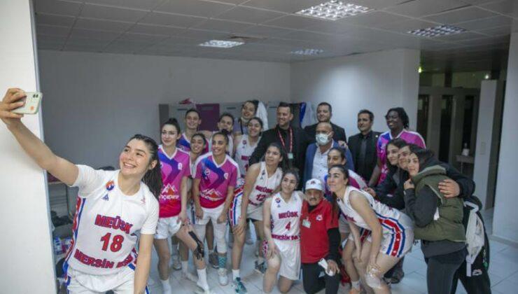 Mersin Büyükşehir Kadın Basketbol Takımı Play-Off'a Çok Yakın