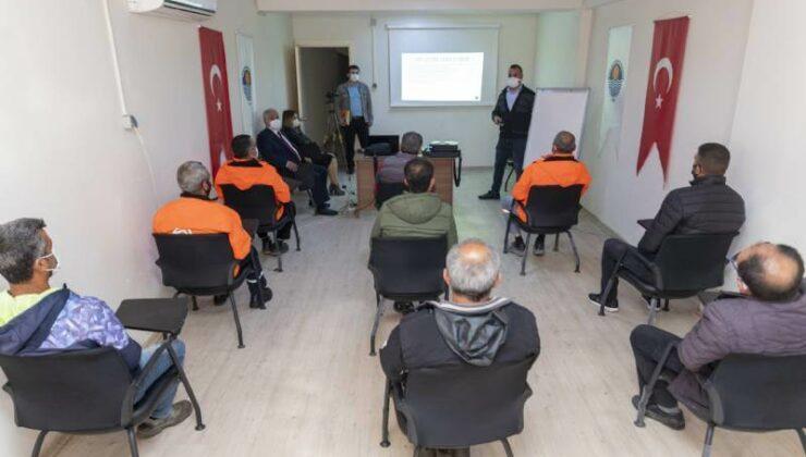 Mersin Büyükşehir Personeline Teknik Yeterlilik Eğitimleri Sürdürüyor