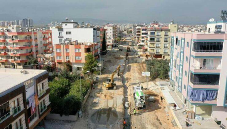 Mersin Büyükşehir'den Yol ve Asfalt Çalışmaları
