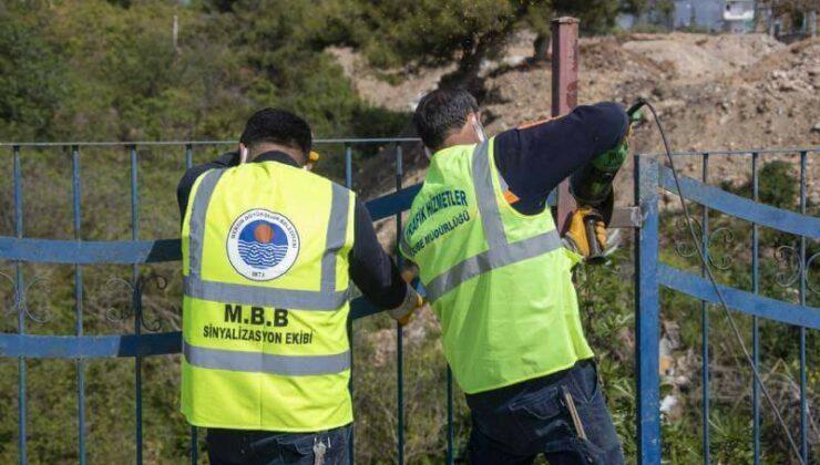 Mersin Büyükşehir'den Yol ve Yaya Güvenliği İçin Çalışmaları