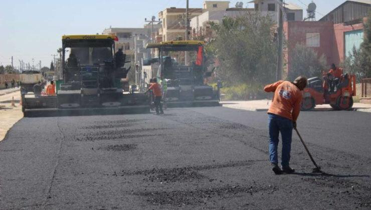 Mersin Büyükşehir'den Yol Yenileme Çalışmaları