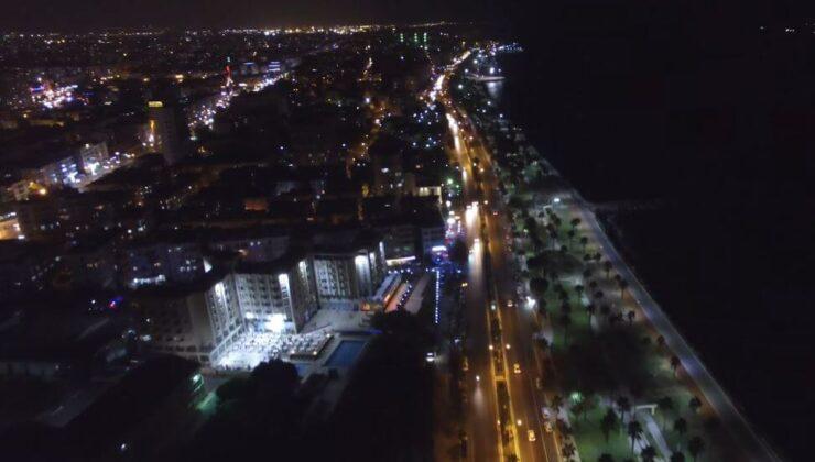 Mersin Gece Manzarası Video
