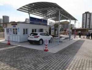 Mersin Mezitli'de Araç Muayene İstasyonu Hizmete Girdi
