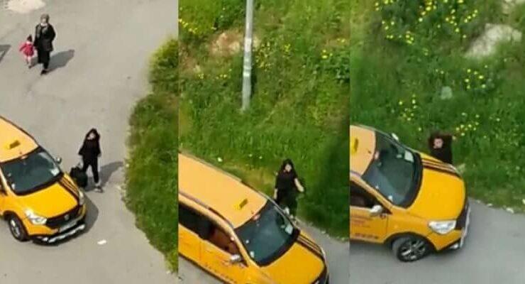 Mersin'de Taksicinin Bir Kadına Yaptıkları 'Pes' Dedirtti!