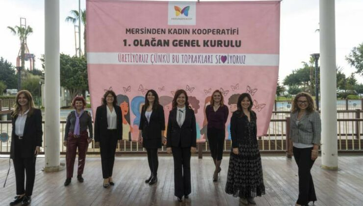 Mersinden Kadın Kooperatifi 1.Olağan Genel Kurulu Yapıldı