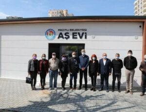 Mezitli Belediyesi Aşevi'ni Yeni Yerine Taşıdı