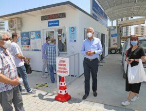 Mezitli'deki Araç Muayene İstasyonu 'Tam Kapanma'da Da Açık Olacak
