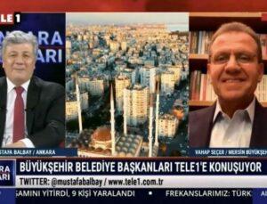 Vahap Seçer, Tele1 TV'de 2.Yılını Değerlendirdi