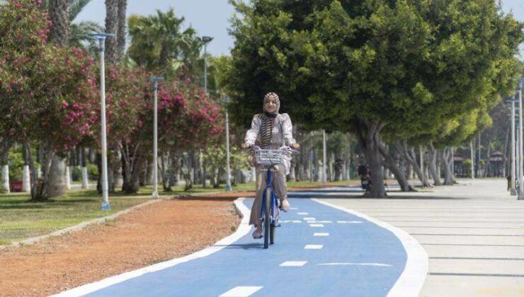 Mersin Büyükşehir, Bisiklet Yolu Projesi'nin %80'ini Tamamladı