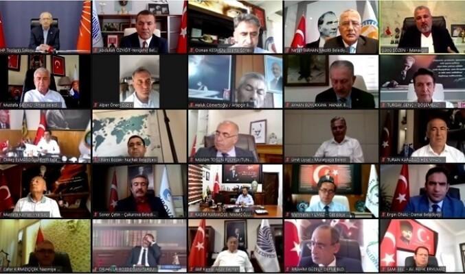 Başkan Abdullah Özyiğit, Kemal Kılıçdaroğlu Başkanlığındaki Video Konferansa Katıldı 2 - baskan abdullah ozyigit kemal kilicdaroglu baskanligindaki video konferansa katildi 2