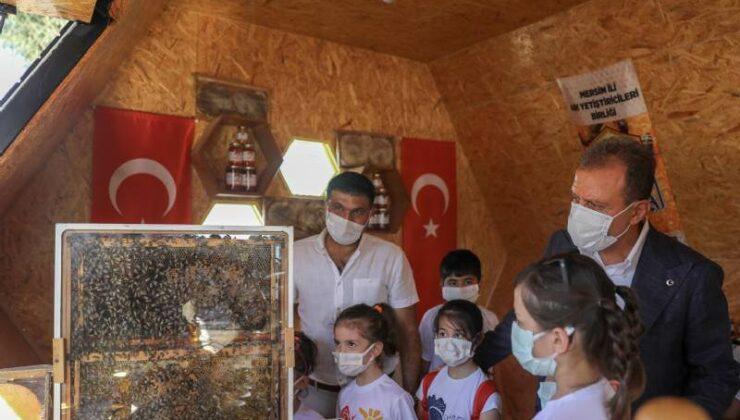 Başkan Vahap Seçer, Bal Evi'ni Ziyaret Etti