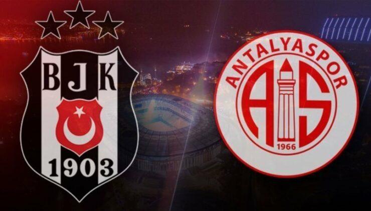 Beşiktaş Antalyaspor Maçını Şifresiz Veren Kanallar