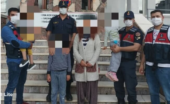 Boşanmak İsteyen Eşini ve Çocuklarını Kaçırmak İsterken Yakalandı!