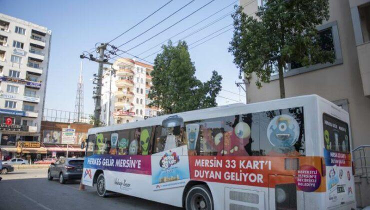 Mersin Büyükşehir'in Mersin 33 Kart Hizmet Aracı Silifke'de