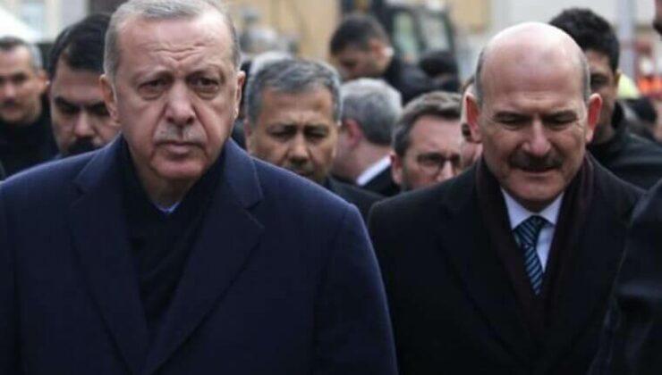 Cumhurbaşkanı Erdoğan, Süleyman Soylu'ya Destek Verdi