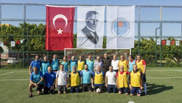 Mersin Büyükşehir, 19 Mayıs'ta Dostluk İçin Futbol Müsabakaları Düzenledi