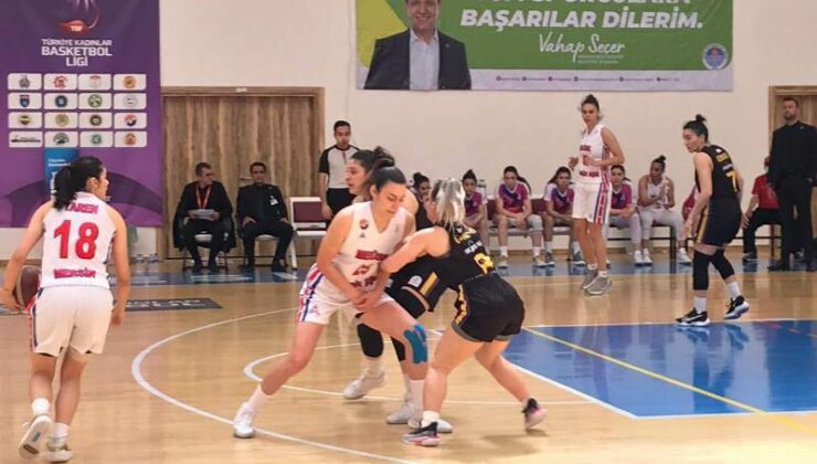 Mersin Büyükşehir Kadın Basketbol Takımı Yalova VİP'i Yenerek Play-Off'a Kaldı