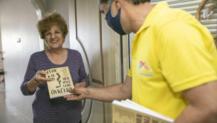 Mersin Büyükşehir'den 65 Yaş Üstü Vatandaşlara Kitap Sürprizi